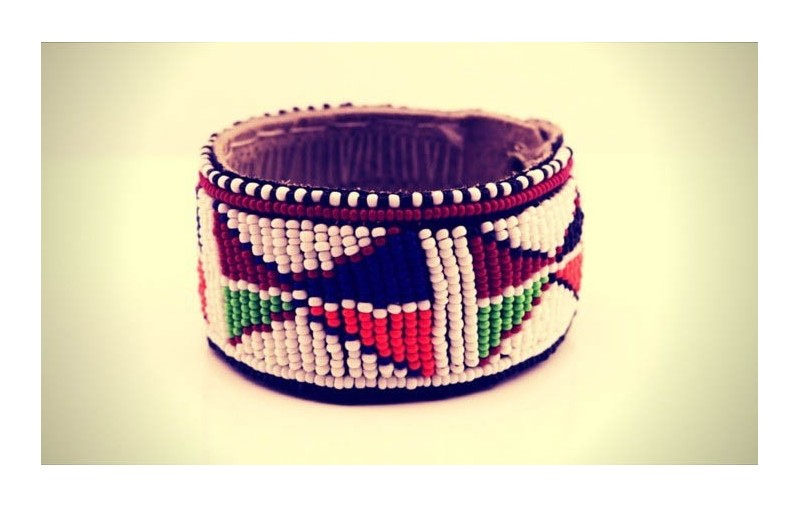 Maasai Bead Leather Bracelets